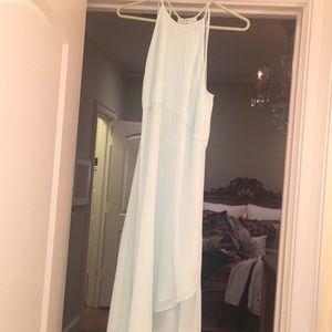 Silk BCBG pastel green dress